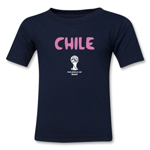 Chile 2014 FIFA World Cup Brazil(TM) Toddler Core T-Shirt (Navy)