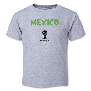 Mexico 2014 FIFA World Cup Brazil(TM) Toddler Core T-Shirt (Gray)