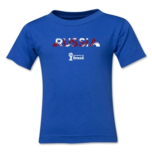 Russia 2014 FIFA World Cup Brazil(TM) Toddler Palm T-Shirt (Royal)