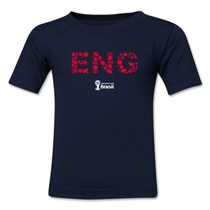 England 2014 FIFA World Cup Brazil(TM) Toddler Elements T-Shirt (Navy)