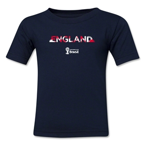 England 2014 FIFA World Cup Brazil(TM) Toddler Palm T-Shirt (Navy)