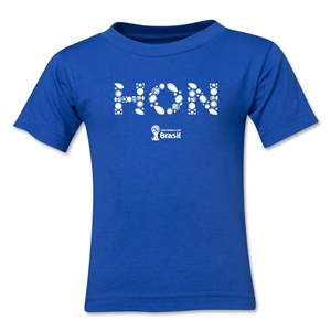 Honduras 2014 FIFA World Cup Brazil(TM) Toddler Elements T-Shirt (Royal)