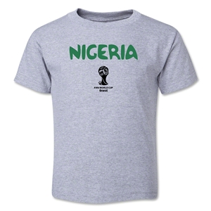 Nigeria 2014 FIFA World Cup Brazil(TM) Toddler Core T-Shirt (Grey)