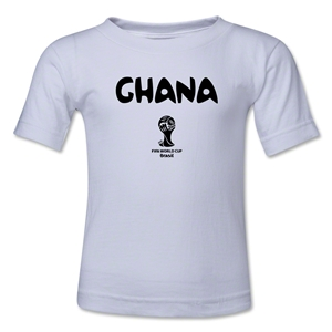 Ghana 2014 FIFA World Cup Brazil(TM) Toddler Core T-Shirt (White)