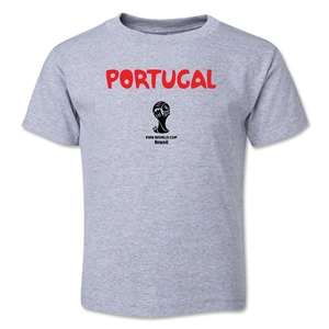 Portugal 2014 FIFA World Cup Brazil(TM) Toddler Core T-Shirt (Grey)