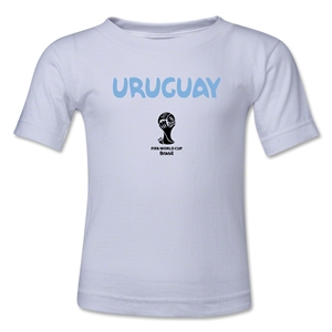 Uruguay 2014 FIFA World Cup Brazil(TM) Toddler Core T-Shirt (White)