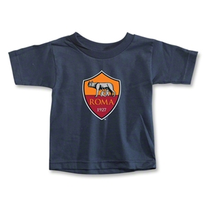 AS Roma Crest Toddler T-Shirt (Navy)