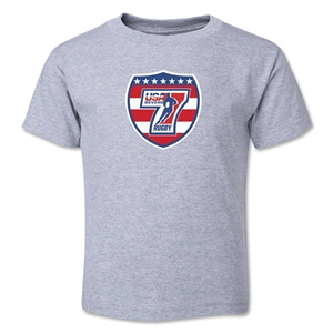 USA Sevens Rugby Toddler T-Shirt (Gray)
