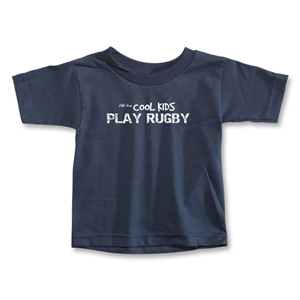 Cool Kids Play Rugby Toddler T-Shirt (Navy)