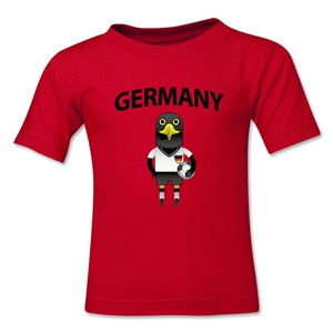 Germany Animal Mascot Toddler T-Shirt (Red)