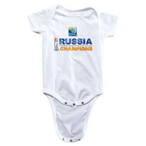 Russia FIFA Beach World Cup 2013 Winners Infant Onesie (White)
