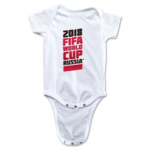 2018 FIFA World Cup Russia(TM) Onesie (White)