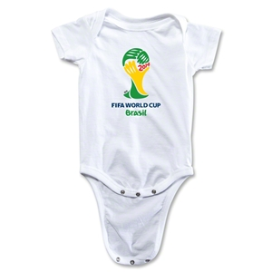 2014 FIFA World Cup Brazil(TM) Emblem Onesie (White)