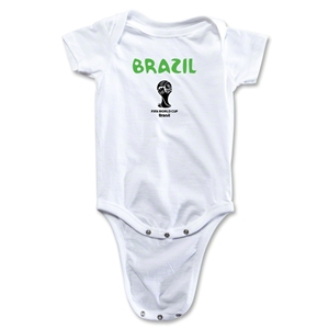 Brazil 2014 FIFA World Cup Brazil(TM) Core Onesie (White)