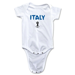 Italy 2014 FIFA World Cup Brazil(TM) Core Onesie (White)