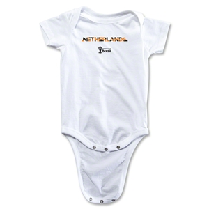 Netherlands 2014 FIFA World Cup Brazil(TM) Palm Onesie (White)