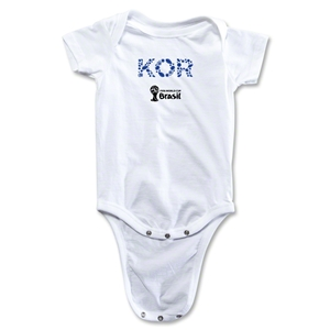 South Korea 2014 FIFA World Cup Brazil(TM) Elements Onesie (White)