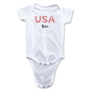 USA 2014 FIFA World Cup Brazil(TM) Elements Onesie (White)