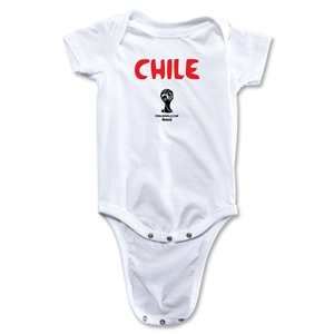 Chile 2014 FIFA World Cup Brazil(TM) Core Onesie (White)