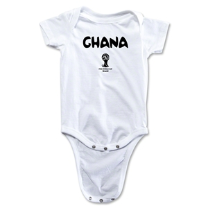 Ghana 2014 FIFA World Cup Brazil(TM) Core Onesie (White)