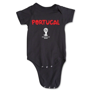 Portugal 2014 FIFA World Cup Brazil(TM) Core Onesie (Black)