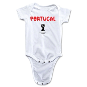 Portugal 2014 FIFA World Cup Brazil(TM) Core Onesie (White)