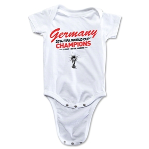 Germany 2014 FIFA World Cup Brazil(TM) Champions Onesie (White)