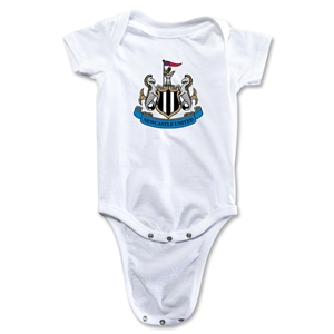 Newcastle United Crest Onesie (White)