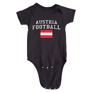 Austria Football Onesie (Black)