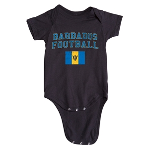 Barbados Football Onesie (Black)