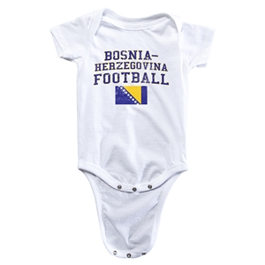 Bosnia-Herzegovina Football Onesie (White)