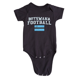 Botswana Football Onesie (Black)