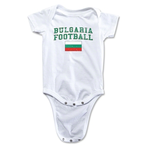 Bulgaria Football Onesie (White)