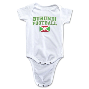 Burundi Football Onesie (White)
