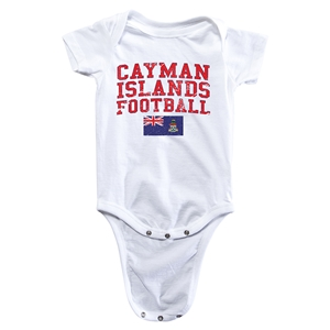 Cayman Islands Football Onesie (White)