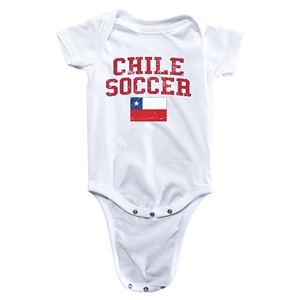 Chile Soccer Onesie (White)