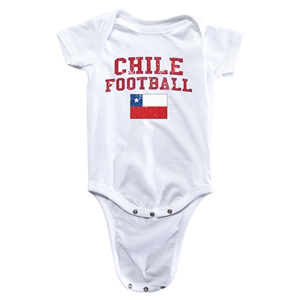 Chile Football Onesie (White)