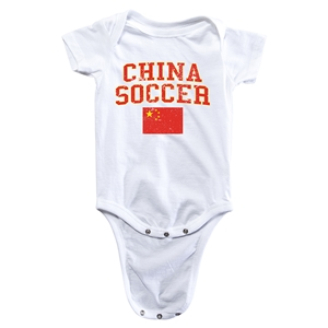 China Soccer Onesie (White)