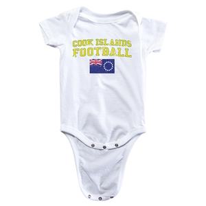 Cook Islands Football Onesie (White)