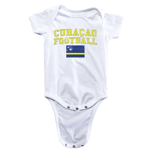 Curacao Football Onesie (White)