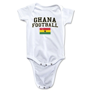 Ghana Football Onesie (White)