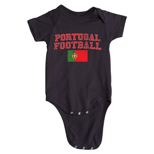 Portugal Football Onesie (Black)