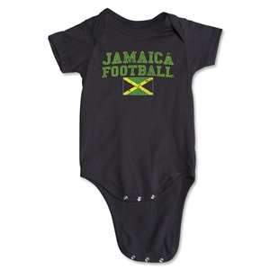 Jamaica Football Onesie (Black)