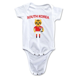 South Korea Animal Mascot Onesie (White)