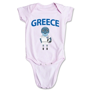 Greece Animal Mascot Onesie (Pink)