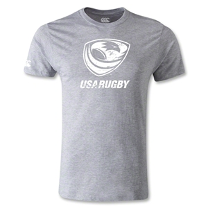 USA Rugby Supporter T-Shirt (Gray)