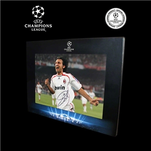 Icons Official UEFA Champions League Andrea Pirlo Signed AC Milan Photo