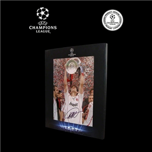 Icons Official UEFA Champions League Kaka Signed AC Milan Photo