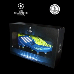 Icons Official UEFA Champions League Luis Suarez Signed Cleat