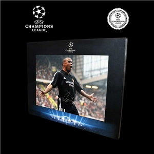 Icons Official UEFA Champions League Ronaldo Signed Real Madrid Photo